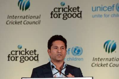 Sachin Tendulkar is lending his support to the Indian Olympic team